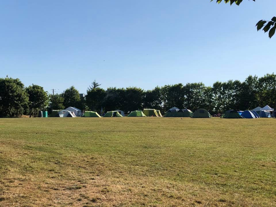 Kilcully Scout Campsite Tents