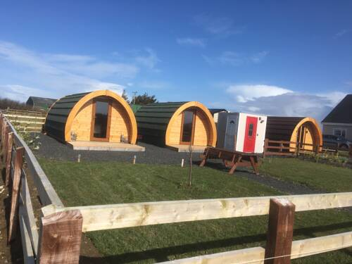 Emlagh, Self Catering Glamping Pods