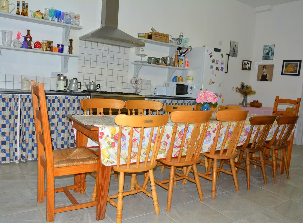 Galway Glamping dining area
