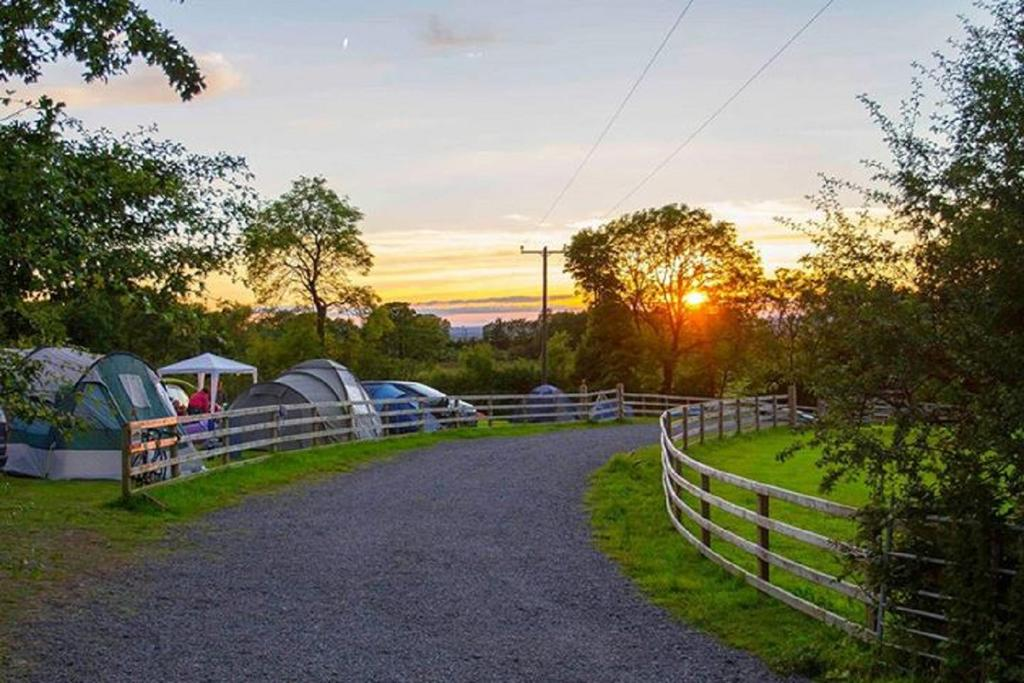 Loughcrew Glamping tents