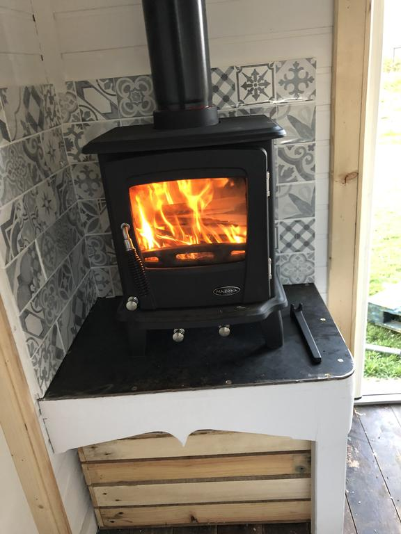 Clydesdale Shepherds hut Fire Place