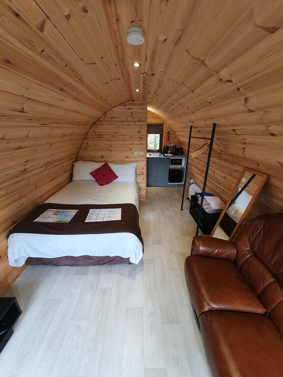 Priory Glamping Pods and Guest accommodation Bed